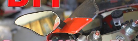 Ducati 1098 Mirror DIY repair with polymer material - TechTidBits